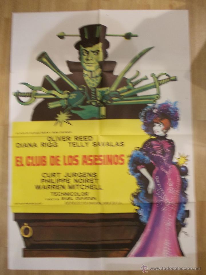 EL CLUB DE LOS ASESINOS-CARTEL ORIGINAL DE CINE (Cine - Posters y Carteles - Comedia)