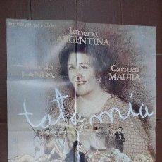Cine: CARTEL DE CINE- MOVIE POSTER - TATA MIA. IMPERIO ARGENTINA. Lote 48158721