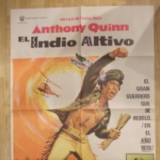 Cine: EL INDIO ALTIVO-CARTEL ORIGINAL DE CINE. Lote 48188792