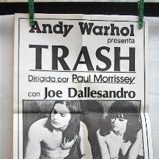 Cine: TRASH ANDY WARHOL JOE DALLESANDRO. Lote 244019850