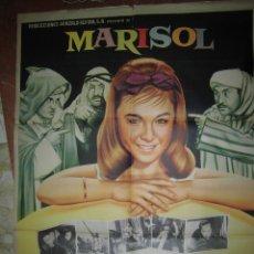 Cine: MARIOL CARTEL DE LA PELICULA LOS ENREDOS DE MARISOL (TOMBOLA) ECHO EN MEXICO 67 X 94. Lote 48526387