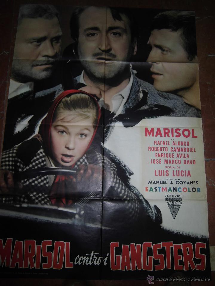 MARISOL CARTEL DE LA PELICULA TOMBOLA ECHO EN ITALIA 100 X 140 (Cine - Posters y Carteles - Clasico Español)