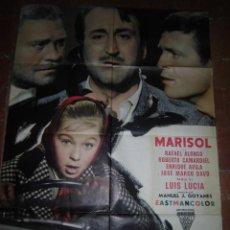 Cine: MARISOL CARTEL DE LA PELICULA TOMBOLA ECHO EN ITALIA 100 X 140. Lote 48526592