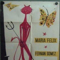 Cine: VU03 FAUSTINA MARIA FELIX FERNANDO FERNAN GOMEZ POSTER ORIGINAL 70X100 ESTRENO LITOGRAFIA B. Lote 48626624