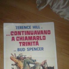 Cine: CARTEL TERENCE HILL BUD SPENCER. Lote 48642682