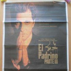 Cine: CARTEL CINE, EL PADRINO PARTE III, 1990, MIDE APROX. 70X100. Lote 48647748