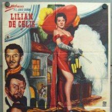 Cine: VU74 AQUELLOS TIEMPOS DEL CUPLE LILIAN DE CELIS POSTER ORIGINAL MEJICANO 70X94. Lote 48658029