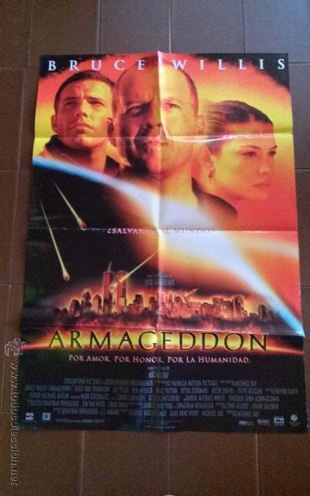 cartel de cine movie poster armageddon co comprar carteles y