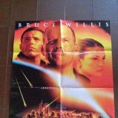 Cine: CARTEL DE CINE - MOVIE POSTER - ARMAGEDDON - CON BRUCE WILLIS. Lote 48654501