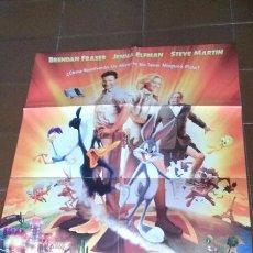 Cine: CARTEL DE CINE - MOVIE POSTER - LOONEY TUNES , DE NUEVO EN ACCION - AÑO 2005. Lote 48664912