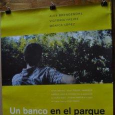 Cine: UN BANCO EN EL PARQUE CARTEL ORIGINAL DE CINE. Lote 48678685