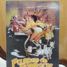 Cine: CARTEN TROQUELADO DE PARQUE DE BOMBEROS. Lote 48702767