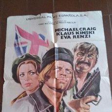 Cine: CARTEL DE CINE - MOVIE POSTER - CITA CON EL DESHONOR - AÑO 1971. Lote 48753909