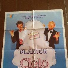 Cine: CARTEL DE CINE - MOVIE POSTER - PLANTON AL CIELO - AÑO 1988 . Lote 48779888