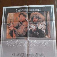 Cine: CARTEL DE CINE - MOVIE POSTER - BELLEZA MORTAL - AÑO 1988. Lote 48780043