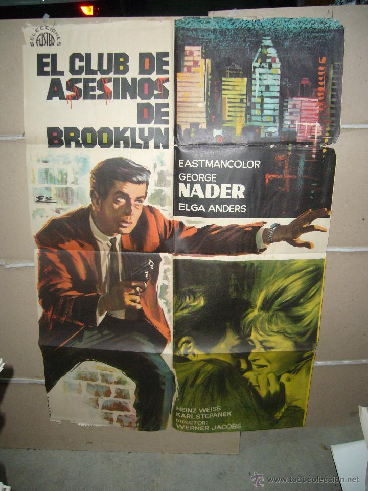 Cine: EL CLUB DE ASESINOS DE BROOKLYN POSTER ORIGINAL 70X100 YY(1005) - Foto 1 - 48794095