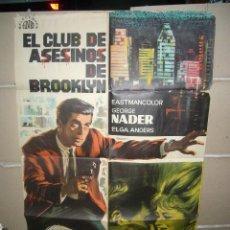 Cine: EL CLUB DE ASESINOS DE BROOKLYN POSTER ORIGINAL 70X100 YY(1005). Lote 48794095
