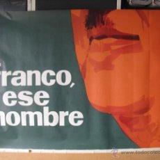 Cine: FRANCO ESE HOMBRE POSTER ORIGINAL 3 HOJAS 210X100. Lote 48818837