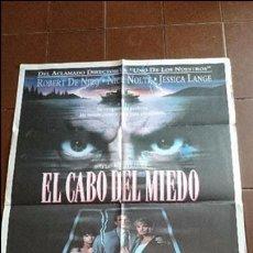Cine: CARTEL DE CINE - MOVIE PÓSTER - EL CABO DEL MIEDO - AÑO 1991 . Lote 48821025