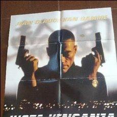 Cine: CARTEL DE CINE - MOVIE PÓSTER - JUSTA VENGANZA - AÑO 2005 . Lote 48832398