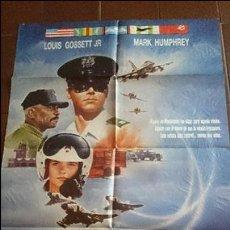 Cine: CARTEL DE CINE - MOVIE PÓSTER - ÁGUILA DE ACERO II- AÑO 1989. Lote 48837414