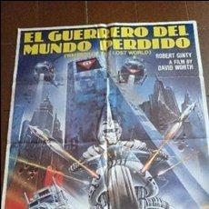 Cine: CARTEL DE CINE - MOVIE PÓSTER - EL GUERRERO DEL MUNDO PERDIDO - AÑO 1983 . Lote 48842156