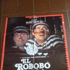 Cine: CARTEL DE CINE ESPAÑOL - MOVIE PÓSTER - EL ROBOBO DE LA JOJOYA - CON MARTES Y TRECE . Lote 48944087