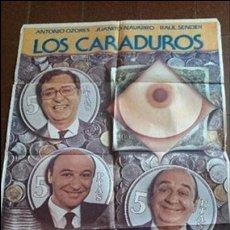 Cine: CARTEL DE CINE - MOVIE PÓSTER - LOS CARADUROS - AÑO 1983 . Lote 48944228