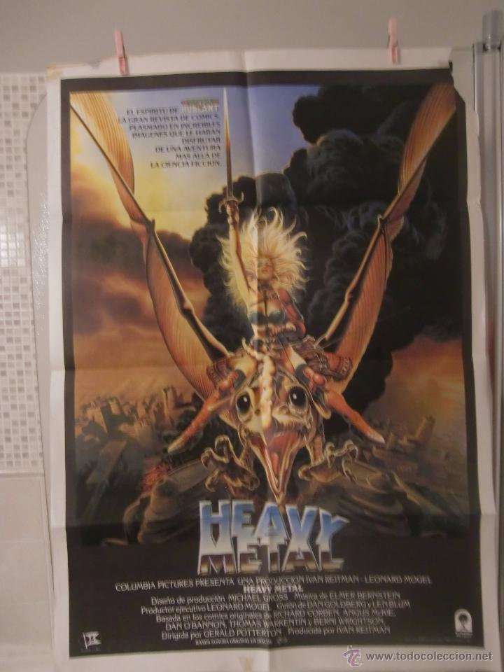 Cartel Cine Orig Heavy Metal 1981 70x100 Ge Sold Through Direct Sale 48947664