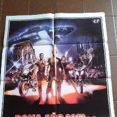 Cine: CARTEL DE CINE - MOVIE POSTER - ROMA AÑO 2072 D.C. LOS GLADIADORES - AÑO 1983. Lote 48778879