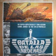 Cine: CARTEL CINE, LA BATALLA DE LAS ARDENAS, HENRY FONDA, ROBERT SHAW, 1977, C475. Lote 48983766