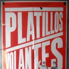 Cinema: (13325)PLATILLOS VOLANTES, CARTEL DE CINE ORIGINAL 70X100 APROX,CONSERVACION,VER FOTO . Lote 48989634