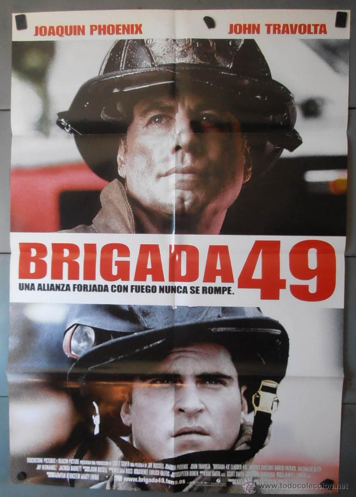 (13333)BRIGADA 49, CARTEL DE CINE ORIGINAL 70X100 APROX,CONSERVACION,VER FOTO (Cine - Posters y Carteles - Acción)