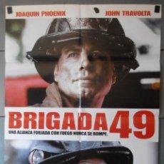 Cine: (13333)BRIGADA 49, CARTEL DE CINE ORIGINAL 70X100 APROX,CONSERVACION,VER FOTO . Lote 48989669