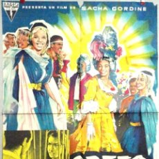 Cine: ORFEO NEGRO 1959. Lote 49033418