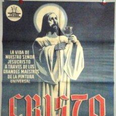 Cine: CRISTO DOCUMENTAL POSTER. Lote 49034807