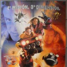 Cine: SPY KIDS 3D,CARTEL DE CINE ORIGINAL 70X100 CM CON ALGUN DEFECTO A 1€,VER FOTO (13017). Lote 49055728