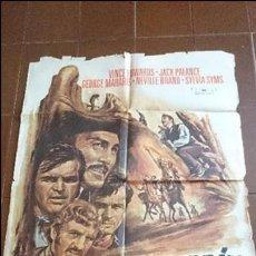 Cine: CARTEL DE CINE - MOVIE PÓSTER - LA MARCA DE CAIN - AÑO 1969 . Lote 49050903