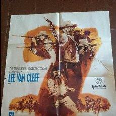 Cine: CARTEL DE CINE - MOVIE PÓSTER - EL DESAFÍO DE LOS 7 MAGNÍFICOS - AÑO 1973 . Lote 49051723