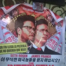 Cine: POSTER THE INTERVIEW ORIGINAL. Lote 49094728