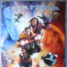 Cine: SPY KIDS 3D,CARTEL DE CINE ORIGINAL 70X100 CM CON ALGUN DEFECTO A 1€,VER FOTO (13432). Lote 56170282