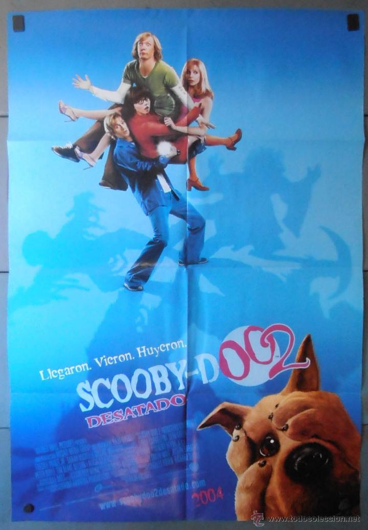 scoobydoo 2 cartel de cine original 70x100 ap comprar