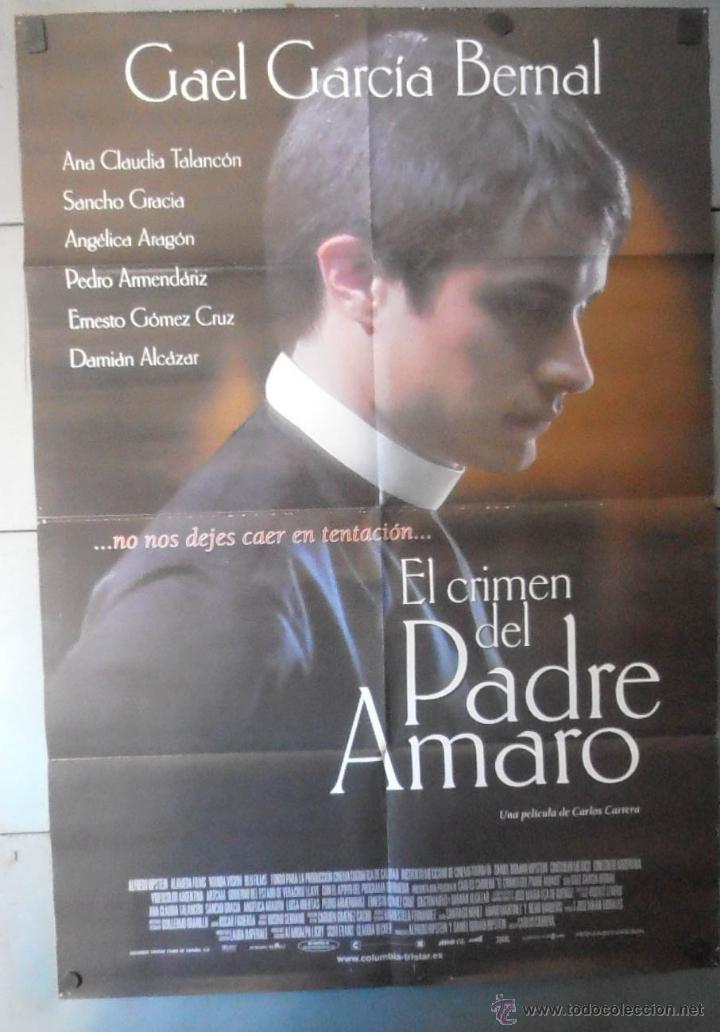EL CRIMEN DEL PADRE AMARO, CARTEL DE CINE ORIGINAL 70X100 APROX (13204) (Cine- Posters y Carteles - Drama)