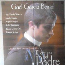 Cine: EL CRIMEN DEL PADRE AMARO, CARTEL DE CINE ORIGINAL 70X100 APROX (13204). Lote 49126269