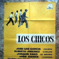 Cine: LOS CHICOS MARCO FERRERI ORIGINAL 1959 70 X 100 EXCELENTE ESTADO COMO NUEVO. Lote 49266556