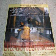 Cine: CARTEL CINE ORIGINAL LA LEYENDA DE LA DONCELLA. Lote 49399554