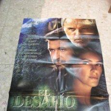 Cine: CARTEL CINE ORIGINAL EL DESAFIO. Lote 49400535