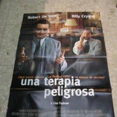 Cine: CARTEL CINE ORIGINAL UNA TERAPIA PELIGROSA. Lote 49417785