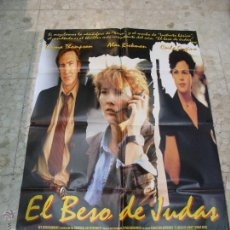Cine: CARTEL CINE ORIGINAL EL BESO DE JUDAS. Lote 49417814