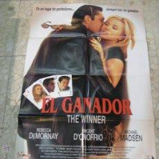 Cine: CARTEL CINE ORIGINAL EL GANADOR. Lote 49417874